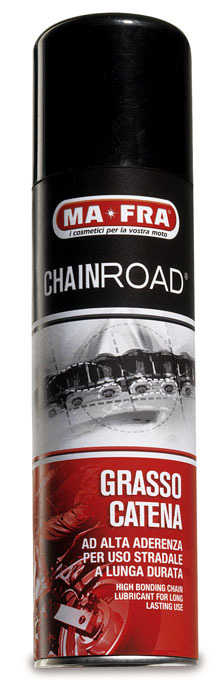 Chain Lubricant chainroad by MA-FRA, spray long distances for ch