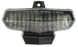 White LED Clear Lens with Integral Indicators for Duc