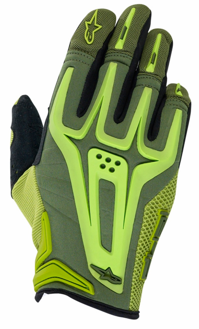 Alpinestars Dual enduro gloves green