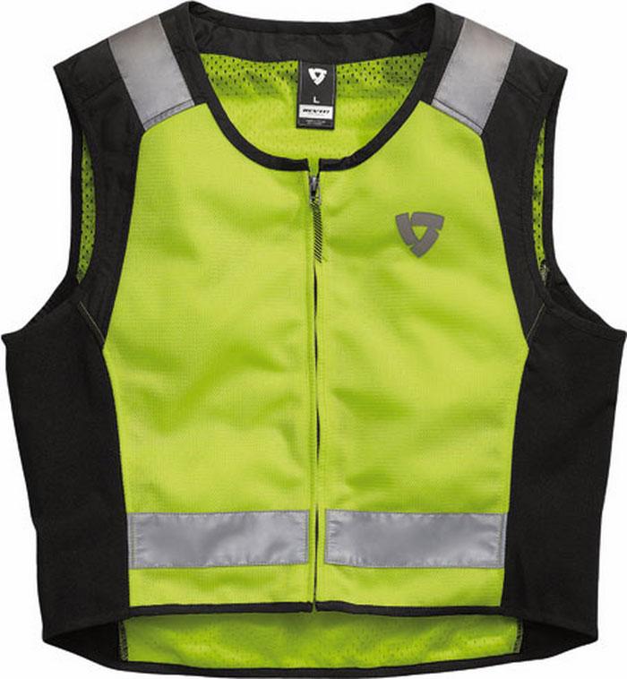 Rev'it Athos Air reflective vest yellow neon