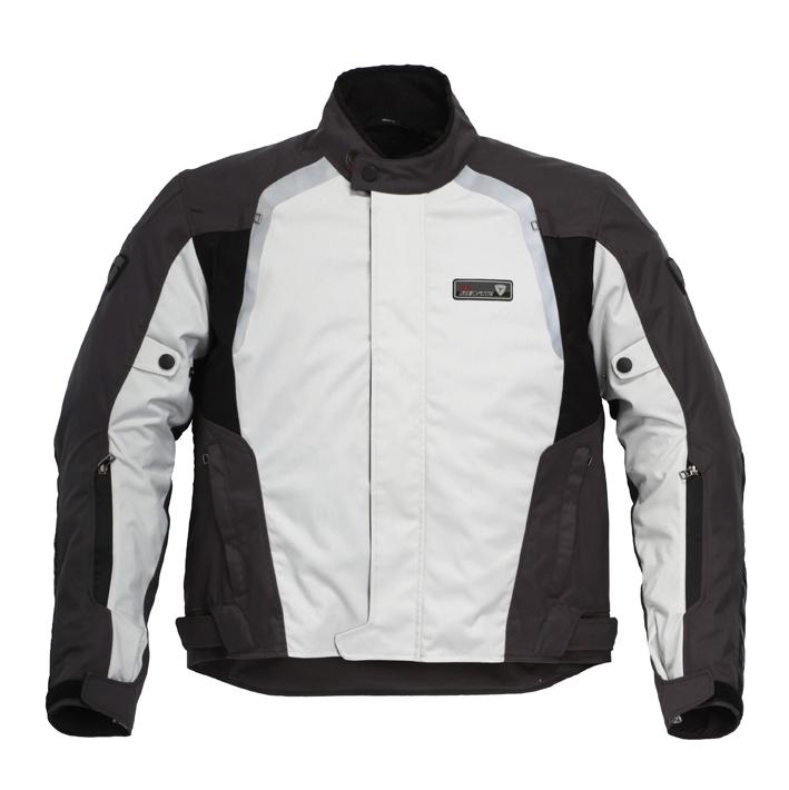 Giacca Moto Rev'it Strada H2O grigio-nero