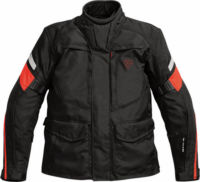 Giacca moto Rev'it Spectrum nero-rossa