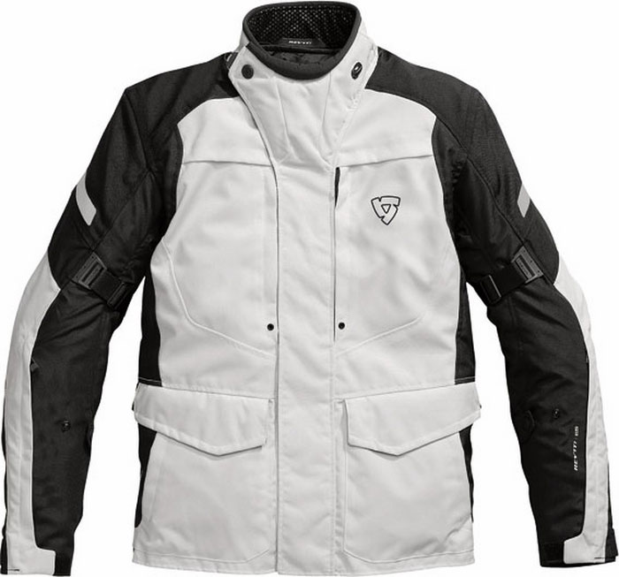 Rev'it Spectrum motorcycle jacket silver-black