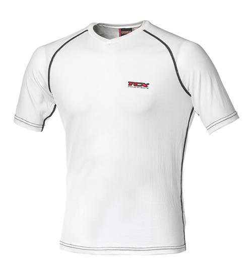 TCX summer short sleeved t-shirt White