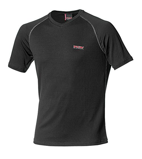 TCX summer short sleeved t-shirt Black