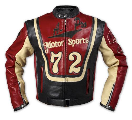 A-PRO Motor Sport 72 Leather Jacket