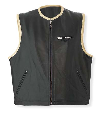 A-PRO Custom Leather Vest