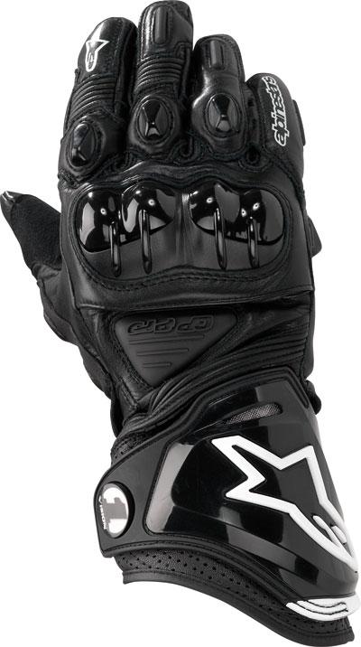 ALPINESTARS GP-PRO leather gloves col. black