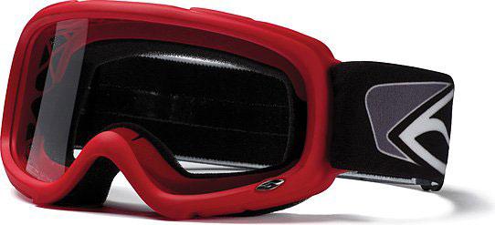 Occhialli Ufo Plast per bambini Smith Gambler MX rossi