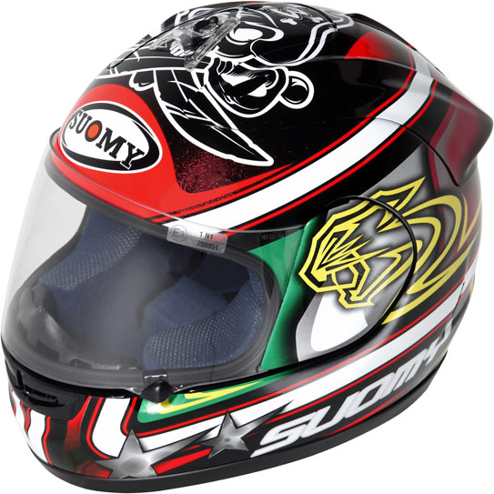 Casco moto Suomy Excel Biaggi Pirate