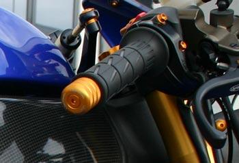 Handlebar Alu LighTech Kawasaki ZX-10R, Turquoise