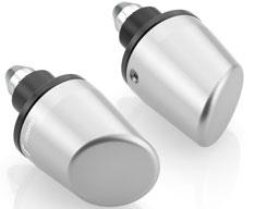 Conical Handlebar Rizoma MA520, Silver