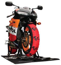 Termocoperte MotoGP Design SBK, anteriore + posteriore
