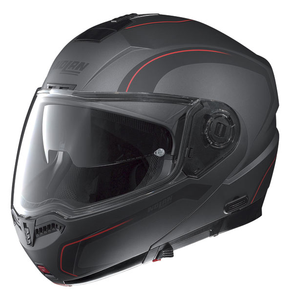 Nolan N104 Action N-Com open-face helmet lava grey
