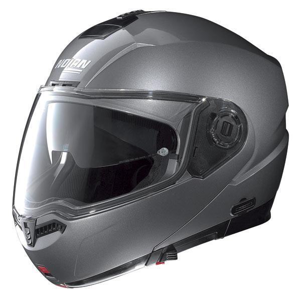 Casco moto Nolan N104 Classic N-Com arctic grey