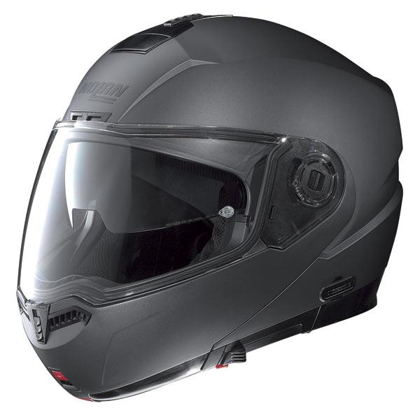 Nolan N104 Classic N-Com open-face helmet lava grey opaco