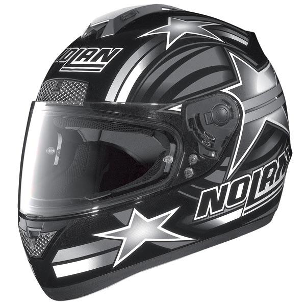 Casco moto Nolan N63 Stars nero