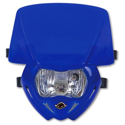 Headlight monochrome UFO Blue Panther