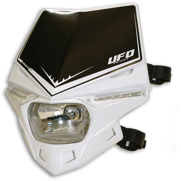 Portafaro Ufo Plast Stealth Monocolore bianco