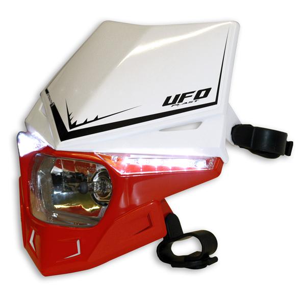 Portafaro Ufo Plast Stealth Bicolore bianco-rosso