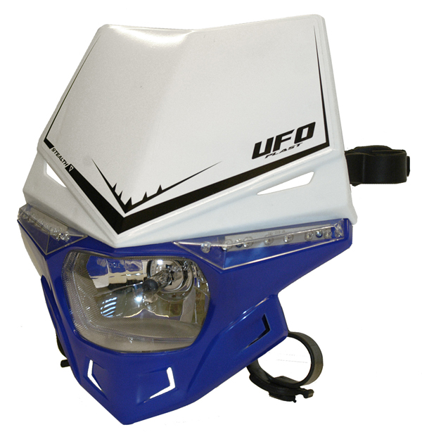 Portafaro Ufo Plast Stealth Bicolore bianco-blu reflex