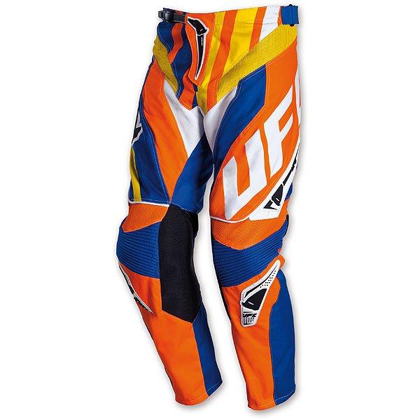 Ufo Plast Century cross trousers Blue Orange