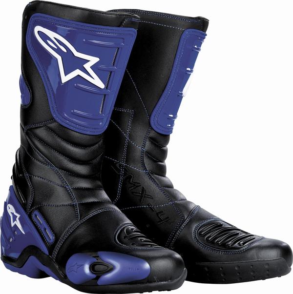 Stivali moto Alpinestars S-MX 4 blu