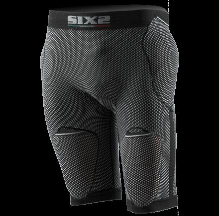 Shorts intimi con fondello Sixs con predisposizione protezioni