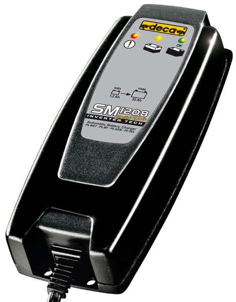 Motorcycle Battery Charger - Car Deca SM 1208