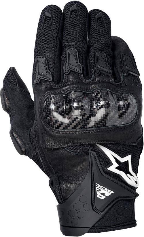 Alpinestars SMX-2 Air Carbon motorcycle gloves black