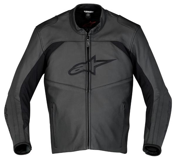 Giacca moto pelle Alpinestars SP Leather nera