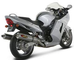 Silenziatore Akrapovic Honda CBR 1100 XX 04- linea SP Titanio
