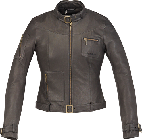 Alpinestars Stella Georgia leather women jacket black