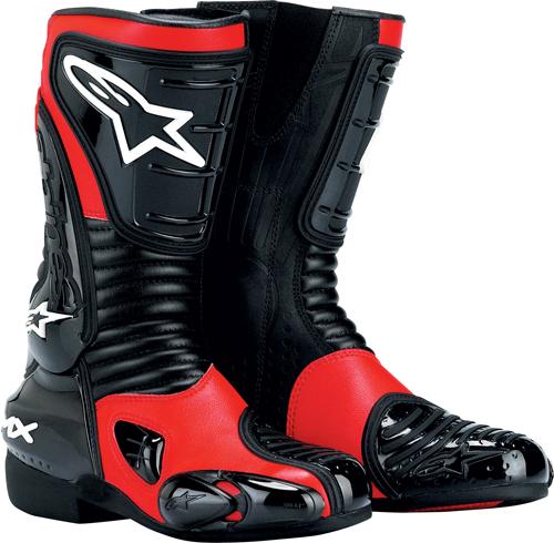 Stivali moto donna Alpinestars S-MX 3 rossi