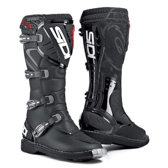SIDI Saber Off-Road Boots - Col. Black