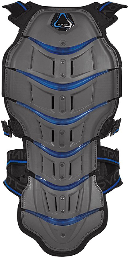 Tryonic back protector Feel 3.7 - CE Level 2 grey-blue