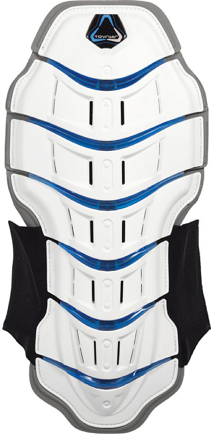 Tryonic back protector Feel 3.7 Race- CE Level white-blue