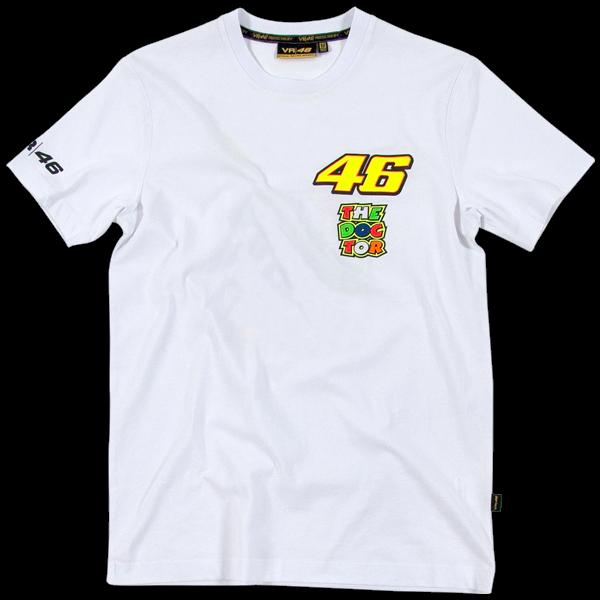 T-shirt VR46 2 loghi