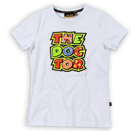 T-shirt VR46 The Doctor donna