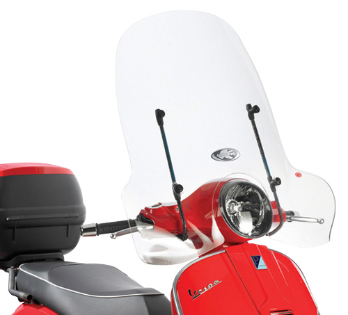 A104A Specific fitting kit for 104A windshields for Piaggio