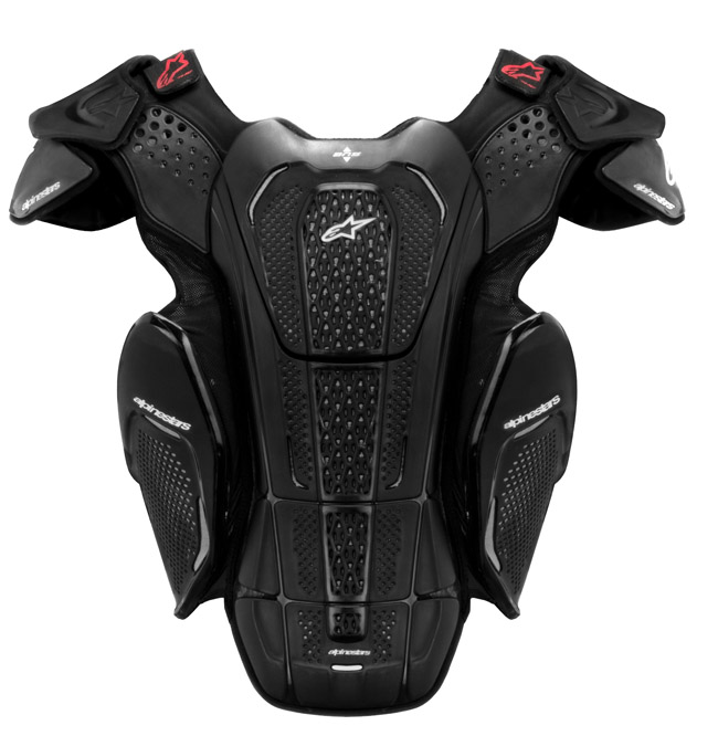 Alpinestars A-8 protection vest for BNS  black white
