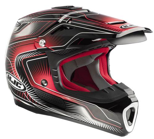 Casco moto cross HJC ACMX Aura MC1