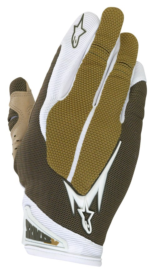 Alpinestars Aero enduro gloves brown