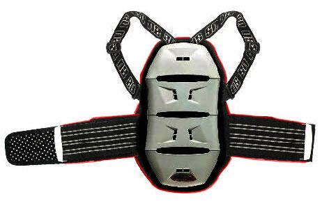 Protezione schiena bambino UltimateStuff Akira 4 vertebre Grigio