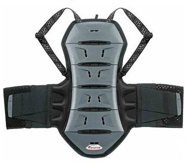 Protezione schiena Ultimate Stuff Akira 6 vertebre Grigio