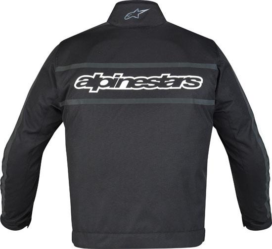 Giacca moto Alpinestars T-Gasoline Waterproof nera