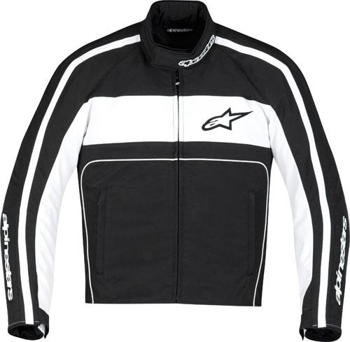 Giacca moto Alpinestars T-Dyno Waterproof nero-bianca