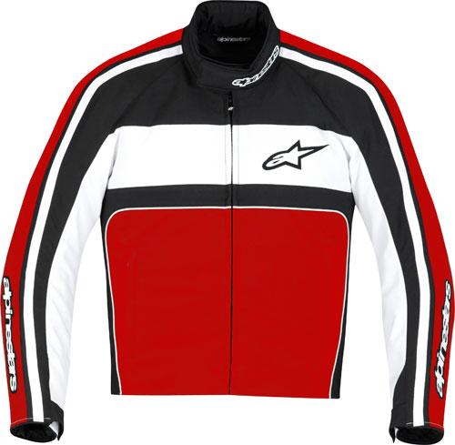 Giacca moto Alpinestars T-Dyno Waterproof nero-rossa