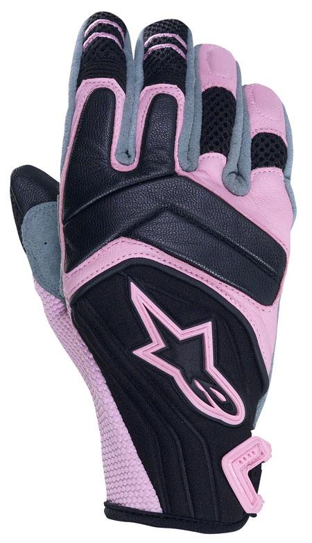 ALPINESTARS Stella SMX-4 women leather-neoprene gloves col. pink