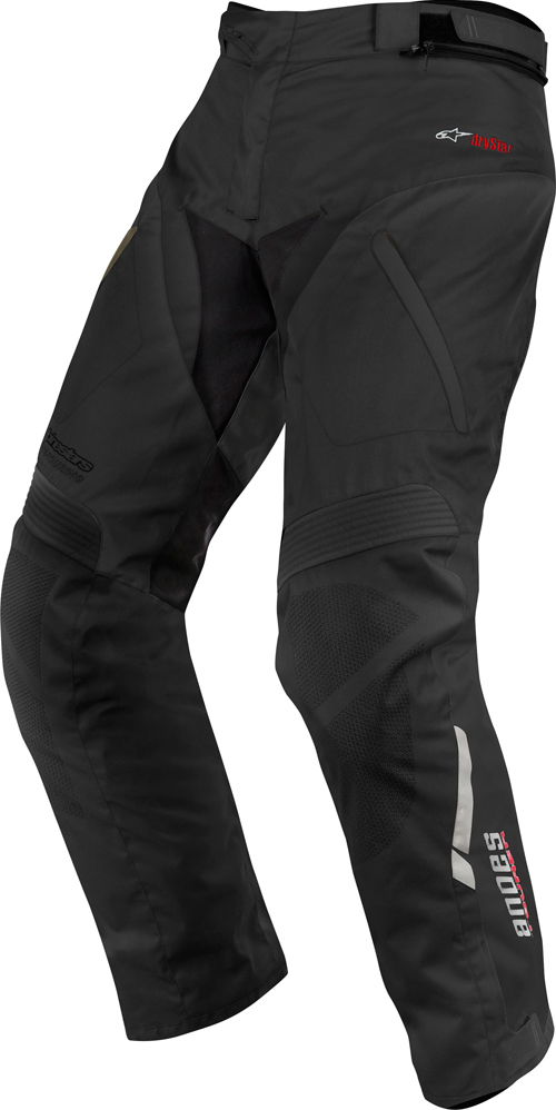 Alpinestars Andes Drystar motorcycle pants black